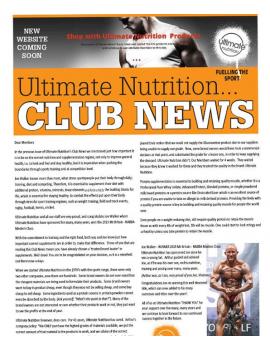 Club News 2015/12