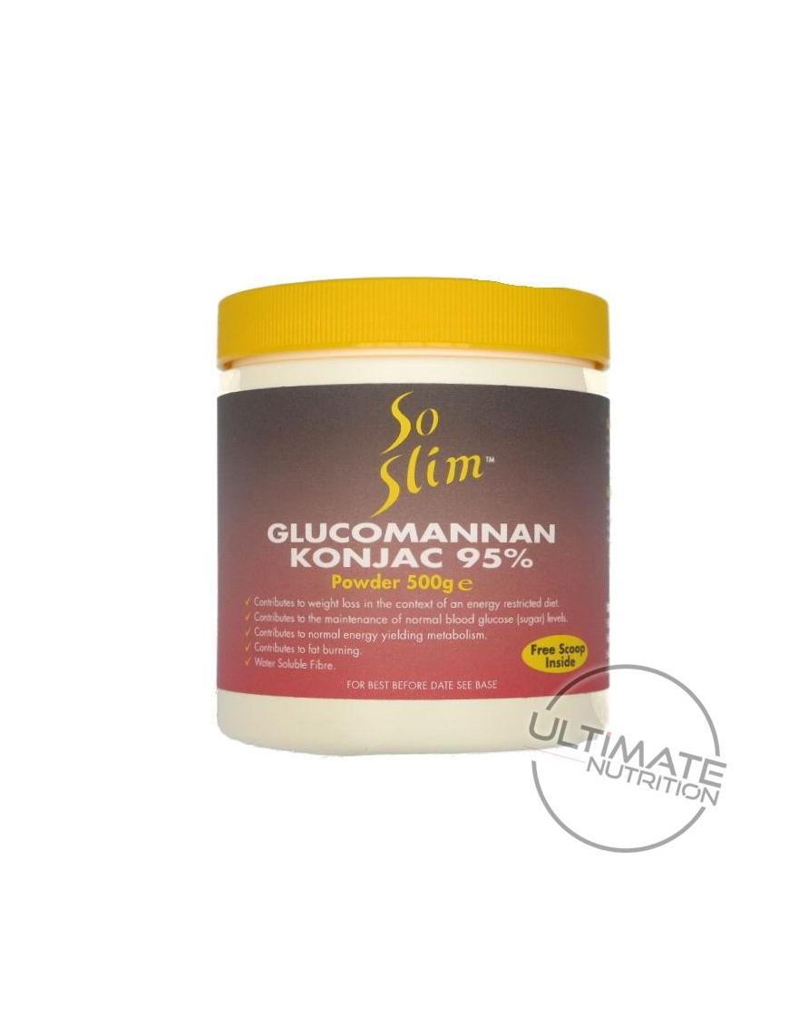 Glucomannan 95% (Konjac) 500g Powder