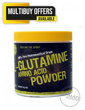 L-Glutamine 300g Pure Pharm Grade Amino Acid