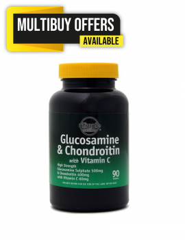 High Strength Glucosamine 500mg + Chondroitin 400mg 90 tablets 3 for 2