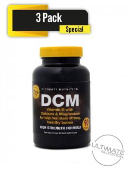 DCM Vitamin D with Calcium & Magnesium 270 tablets - (3 pack Special)