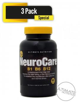 NeuroCare (B1 B6 B12) formula 180 tablets (3 pack Special)