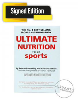 Ultimate Nutrition Book-Revised & Updated - SIGNED
