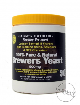 Brewers Yeast Tablets 500 (Includes 20 FREE)