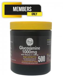 Glucosamine 1000mg with Vitamin C 100mg 500 capsules Bulk Buy
