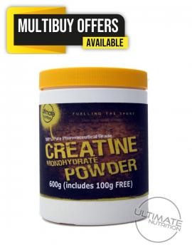 Creatine 600g Pure Pharm Grade inc 100g free