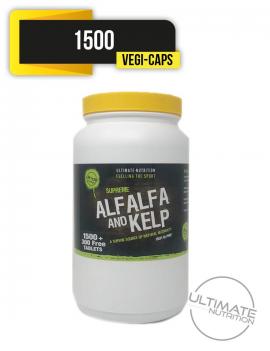 Alfalfa & Kelp 1500 Vegi-capsules  - High in HMB
