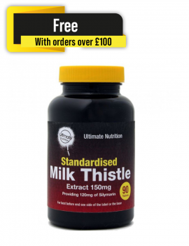 Milk Thistle Extract 150mg 90 tablets FREE: Orders over £100.00 excluding p&p. Please add to your order.