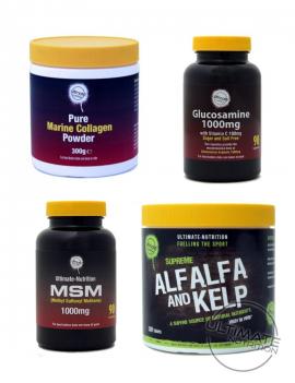 Marine, Glucosamine, Alfalfa & Kelp FREE MSM