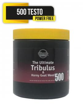 98% Tribulus Terrestris + Horny Goatweed 500 + 500 Testo-Power free