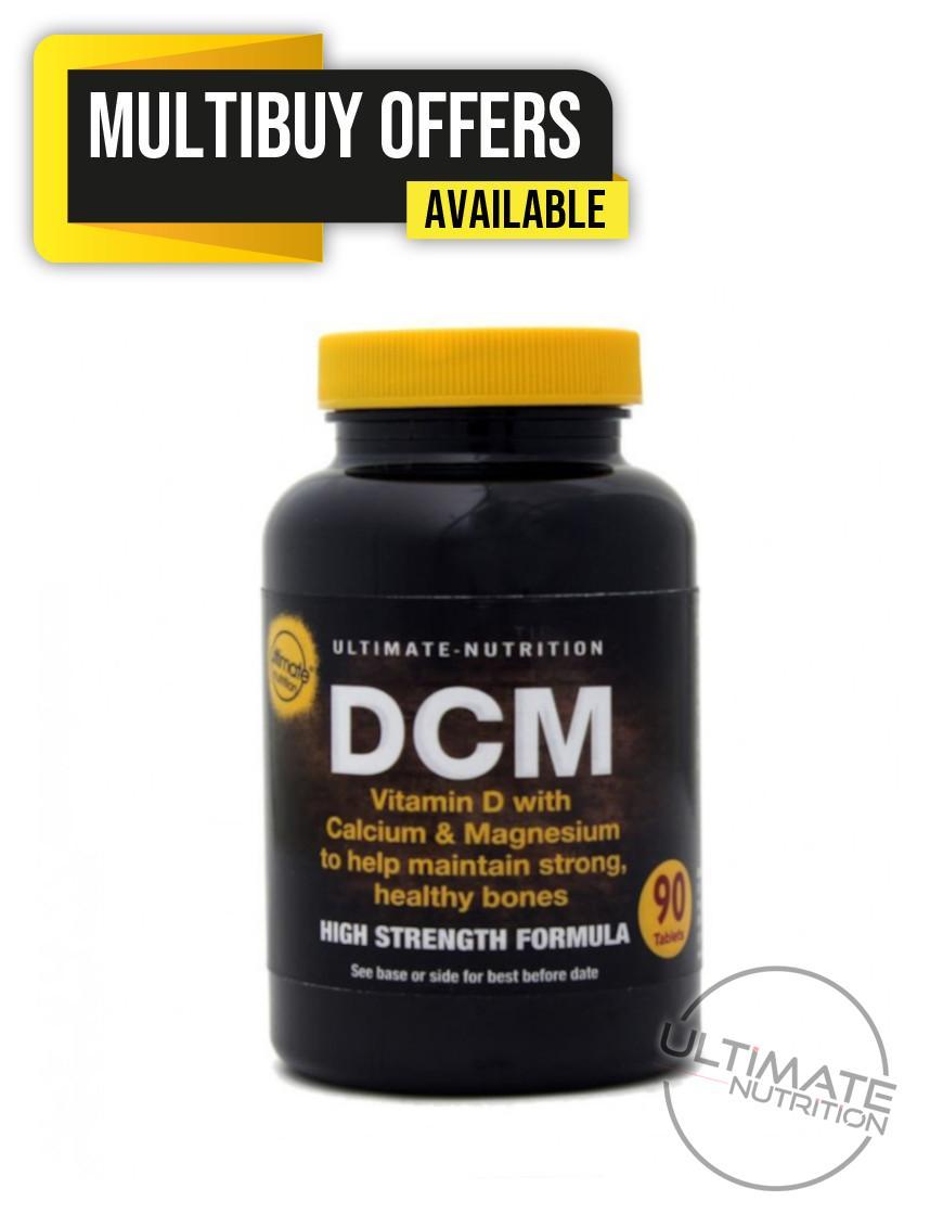 DCM Vitamin D with Calcium & Magnesium  tablets