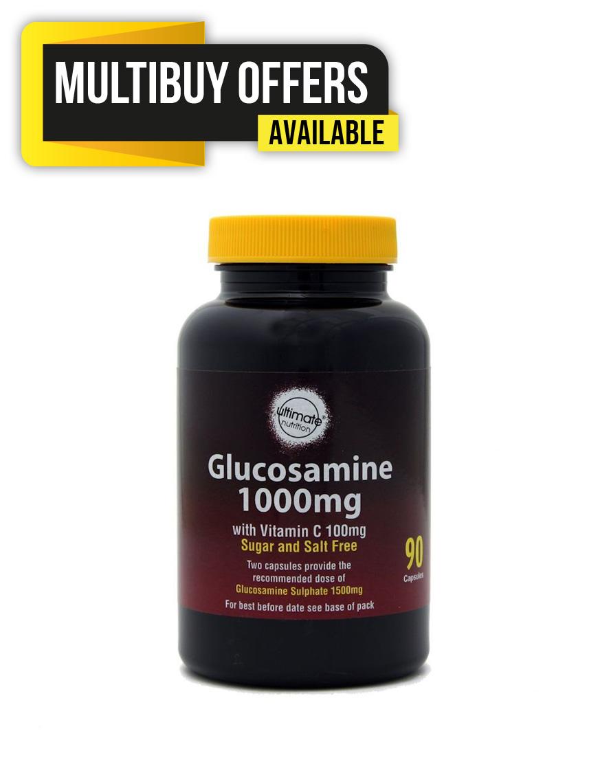 Glucosamine 1000mg with Vitamin C 100mg  capsules