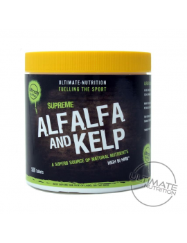500 Alfalfa & Kelp tablets - High in HMB