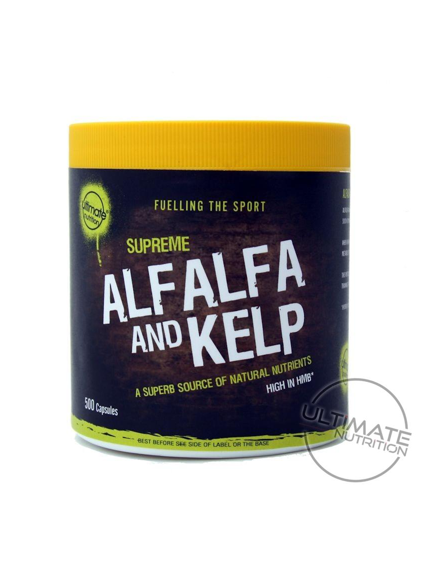 500 Alfalfa & Kelp Vegi-capsules - High in HMB - Ultimate