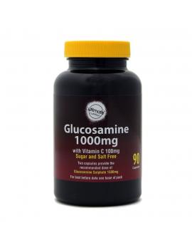 Glucosamine 1000mg with Vitamin C 100mg 90 vegi-capsules