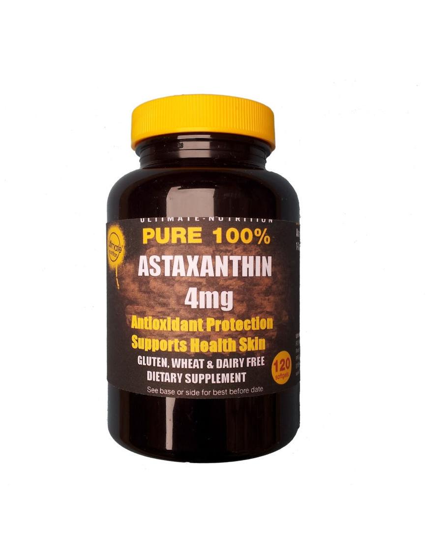Astaxanthin 4mg 120 softgels