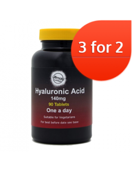 Hyaluronic Acid 140mg tablets 90 3 for 2
