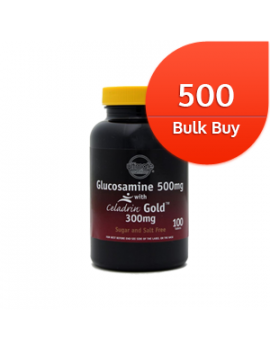 Glucosamine 500mg with Celadrin Gold 300mg 500 tablets Bulk Buy