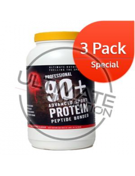 90+ Advanced Protein 3000g (60 servings)